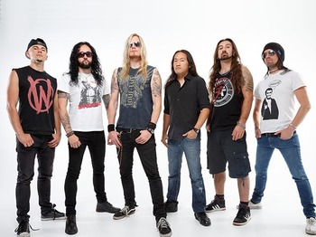 DragonForce + Neonfly picture