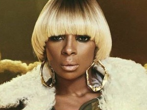 Mary J Blige artist photo
