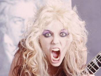 The Great Kat artist photo