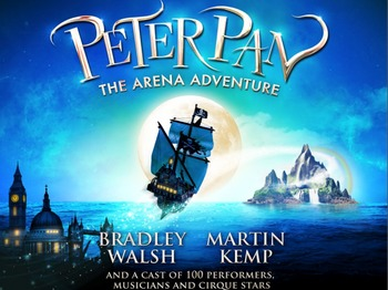 Peter Pan - Christmas In Neverland: Bradley Walsh, Martin Kemp picture