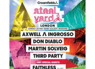 Creamfields presents Steel Yard London : Axwell & Ingrosso, Faithless, Don Diablo, Martin Solveig, Third Party artist photo
