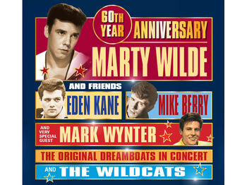 The Solid Gold Rock N Roll Show 2017: Marty Wilde, Eden Kane, Mike Berry, Mark Wynter picture