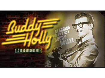 Buddy Holly - A Legend Reborn + Jess Conrad + Gavin Stanley As Billy Fury + Patsy Lee picture