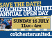 Colchester United Open Day event picture