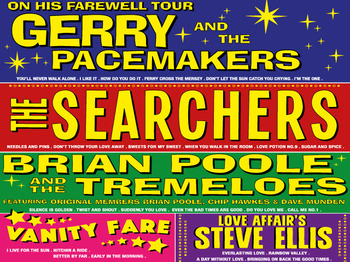 Sixties Gold, Gerry And The Pacemakers, The Searchers, Brian Poole & The Tremeloes, Steve Ellis, Vanity Fare picture