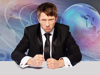 Back To The Studio: Jonathan Pie picture