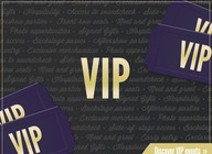 Take a look at the latest VIP packages