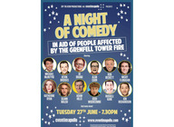 A Night Of Comedy In Aid Of People Affected By The Grenfell Tower Fire: Michael McIntyre, Kevin Bridges, Alan Carr, Micky Flanagan, Jo Brand, Rob Beckett, Josh Widdicombe, Jon Richardson, Katherine Ryan, Seann Walsh, Adam Hills, Russell Kane artist photo