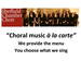 Choral Music A La Carte: Sheffield Chamber Choir event picture