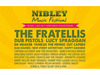 Nibley Festival added The Fratellis to the roster