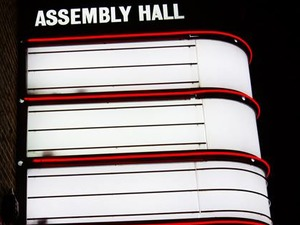 Assembly Hall Theatre artist photo