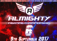Almighty Fighting Championships 6 artist photo
