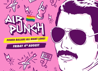 Air Punch: Power Ballads All Night - Pride Special artist photo