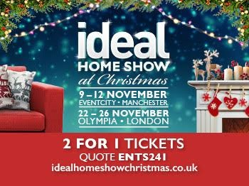 ideal home show tickets eventcity manchester. Black Bedroom Furniture Sets. Home Design Ideas