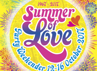 60s Summer of Love Party Weekender artist photo