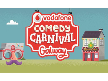 Vodafone Comedy Carnival Galway 2017: David O'Doherty, Kevin Bridges, Lords Of Strut, Joe Rooney, Barry Murphy picture