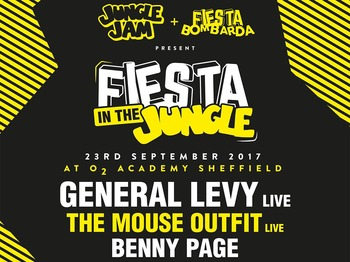 Fiesta In The Jungle: General Levy, The Mouse Outfit, Benny Page, Channel One Sound System, Gardna, Junglist Alliance, Defacto, Luke EP, Double Gee picture