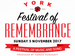 Festival Of Remembrance: The Band of the Yorkshire Regiment ,  The Daytones Barbershop Harmony Chorus, Jessa Liversidge event picture
