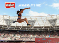 Muller Anniversary Games 2018 artist photo