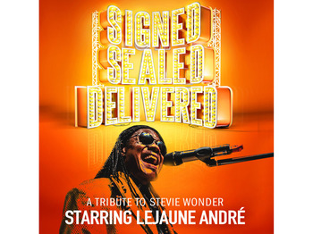 Signed Sealed Delivered - A Tribute To Stevie Wonder picture