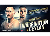 Championship Boxing - Warrington v Ceylan artist photo
