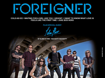 40th Anniversary Tour: Foreigner, John Parr picture