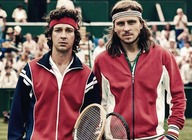 Borg vs. McEnroe artist photo