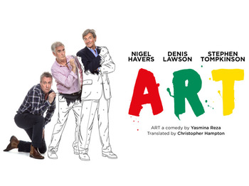 Art (Touring), Nigel Havers, Denis Lawson, Stephen Tompkinson picture