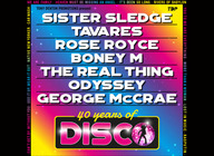 40 Years Of Disco PRESALE