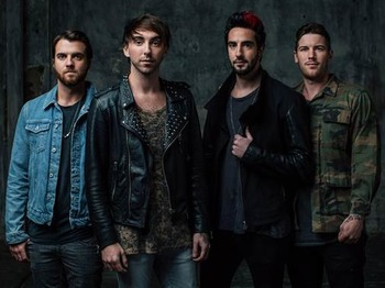The Young Renegades UK Tour: All Time Low, Pierce The Veil picture