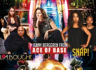 90s Fest London 2017: La Bouche, Jenny Berggren (Ace of Base), SNAP! artist photo