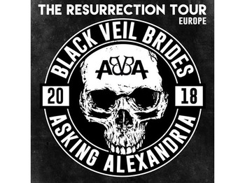 The Resurrection Tour Asking Alexandria Black Veil Brides Picture