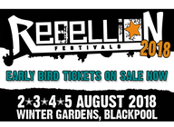 Rebellion Festival 2018 artist photo