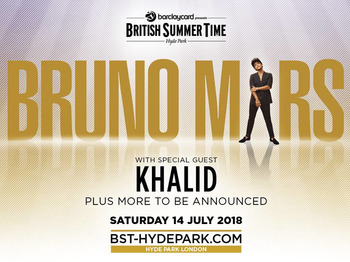 Barclaycard presents British Summer Time Hyde Park 2018: Bruno Mars, Khalid picture