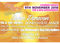 Camber 70s & 80s Weekender artist photo
