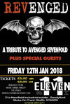 Flyer thumbnail for Revenged - A Tribute to Avenged Sevenfold