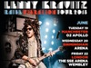 Lenny Kravitz announced 3 new tour dates