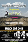 Flyer thumbnail for BulletBoys, Enuff z Nuff, Venrez