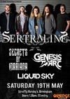 Flyer thumbnail for Pre-Tour Party: Sertraline, Secrets of Mariana, Liquid Sky, Genesis Arc
