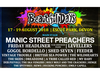 Beautiful Days 2018 added Manic Street Preachers and 5 more artists to the roster