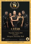 Flyer thumbnail for Greatest Hits Show: Five Star